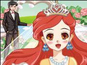 Princess Manga Wedding